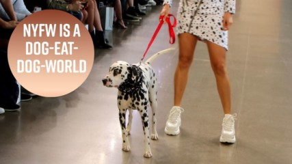 Dalmatian is the star model of Day 1 NYFW