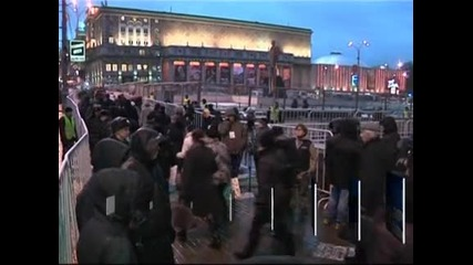 В Москва задържаха 12 опозиционни активисти