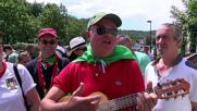France: Portuguese and French fans gear up for Euro 2016 final