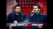 Erkam Aydar ve Cagri Emrah Yildirim - Muhtis Duelo '' O Ses Turkiye '' (04.02.2013)