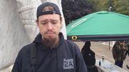 USA: Armed pro-gun activists enter Salem's State Capitol