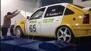 Opel Kadett C20xe on Vrperformance dyno
