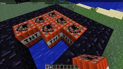 Minecraft-kak da se istrelqme v vuzduha