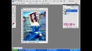 Photoshop урок! 2 начина за смяна на цвета на роклята