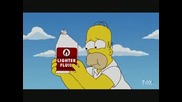 Homer Simpson - Fire Kebab