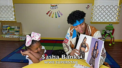 La'Ron Hines gives kids a WrestleMania quiz