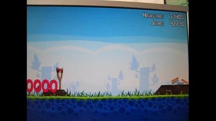 angry birds ниво 1-2