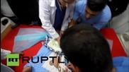 State of Palestine: Baby killed by Israeli gas bomb attack near Bethlehem