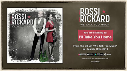 Francis Rossi Hannah Rickard - ill Take You Home (official Song Stream) - new album out March 15th