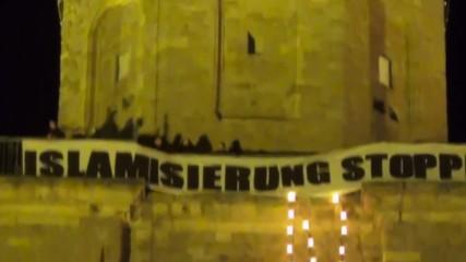 Протест против ислямизацията на Европа в Дормунд