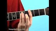 Beginner Guitar Lessons - Bare Chords