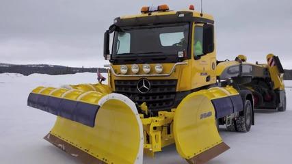 Снегопочистваща техника за летища и магистрали Overaasen Rs400