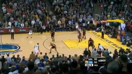 Miami Heat @ Golden State Warriors 106 - 111 [10.01.2012]