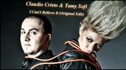 Claudio Cristo Tamy Sofi - I Can't Believe It