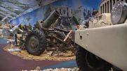 Russia: Military equipment seized from Islamic State put on display at military forum