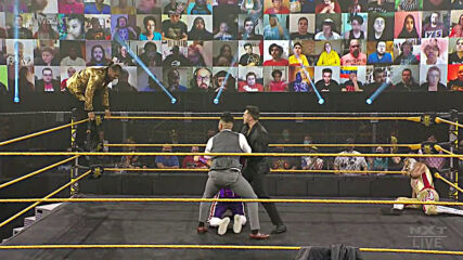 Curt Stallion and Lucha House Party ruin Santos Escobar's victory lap: WWE NXT, Jan. 20, 2021