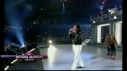 Michael Jackson Ft. Usher - You Rock My World Live!