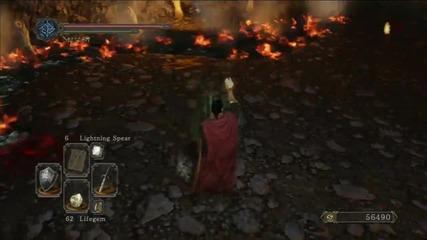 Dark Souls 2: Първа битка с The Rotten