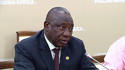 Russia: Putin meets Ramaphosa and other African leaders at first Russia-Africa summit