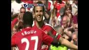26.04 Арсенал - Мидълзбро 2:0 Сеск Фабрегас втори гол