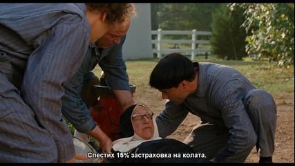 """Смешна сцена от филма """" Тройка дебили """""""