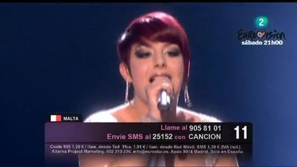 Eurovision 2010 Malta Thea Garret - My Dream