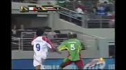 19.7.2009 Коста Рика - Гуадалупе 5 - 1 Голд Къп 2009 1/4 финал
