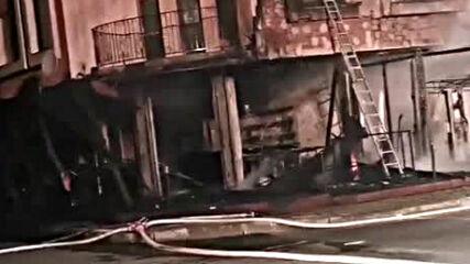Жена пострада при пожар в Приморско