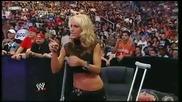 Smackdown 28/08/09 - Melina vs. Layla /w. Michelle/