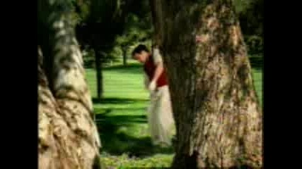 Golfer Commercial - In the Woods