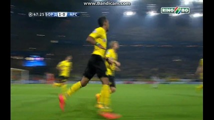 Борусия Дортмунд 2:0 Арсенал (бг аудио)