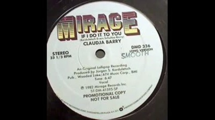 Claudja Barry - If I Do It To You 1982