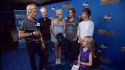 R5 - 2014 Mda Telethon Blue Carpet Interview