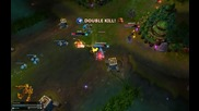 League of legends Ashe Pentakill