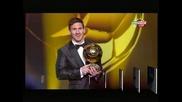 "Лионел Меси с историческа четвърта поредна ""Златна топка"""