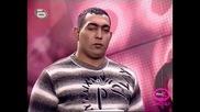 Music Idol 2 - Борец се опитва да пее