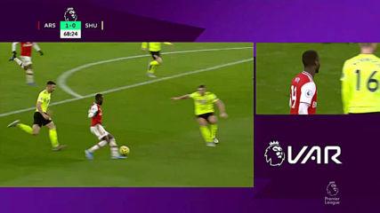 Арсенал - Шефилд Юнайтед 1:1 /репортаж/