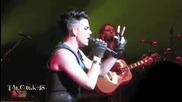 Adam Lambert singing Whole Lotta Love Foxwoods