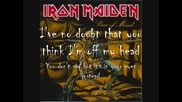 Still Life.- Iron Maiden (with lyrics)