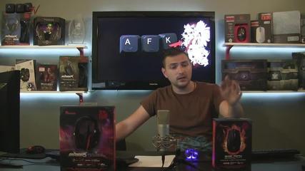 Спечели мишка и слушалки Ttesports - Afk Tv Еп. 32 част 5