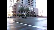 Дрифт насред улицата - Lamborghini Gallardo