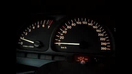 Opel Vectra B V6 2.5 Sbl 0-210km-h