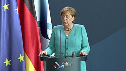 Germany: Answer to 'unprecedented' coronavirus crisis must be 'powerful' - Merkel