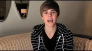 Justin Bieber Номиниран за наградите Brits