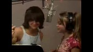 Emily Osment And M. Musso Recording