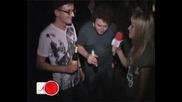 Киро и Тео на финалното парти на телевизия Mm