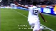 Женски футбол-1/2 финал, Франция- Сащ 1:3,световно първенство,2011