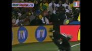 25.06.09 Бразилия 1:0 Юар Дани Алвеш Гол