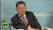 Germany: Gazprom takes all the risk of supplying Europe - CEO Miller