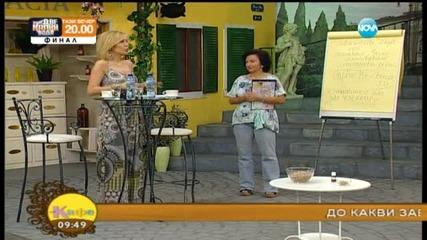 Доктор Папазова ще разкаже на зрителите за хормоналния дисбаланс при жените - На кафе (25.05.2015)